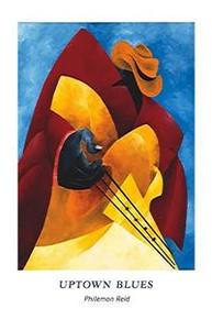 Uptown Blues (24 x 36) Art Print - Philemon Reid