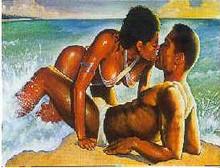 Paradise Art Print - Merrill Robinson