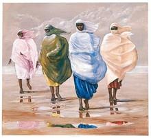 The Islanders (mini) Art Print - Lavarne Ross