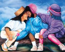 The Beauty of Friendship Art Print - Jamal Scott