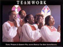 Teamwork Art Print