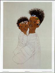 Mother Love I Art Print - Sylvia Walker