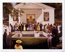 Baptism Art Print - Ernest Watson