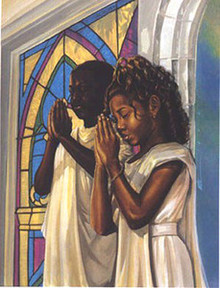 Daily Prayer (16 x 12) Art Print - Kevin A. Williams - WAK