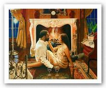 Hearts Of Fire Art Print - Edward Clay Wright