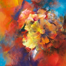 Floral Glory Art Print - Astrid DeVere