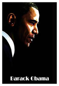 Barack Obama Art Print - H. Abavista