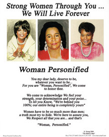Woman Personified (mini) Art Print - Donald Young