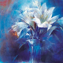 Floral Intensity Art Print - Astrid DeVere