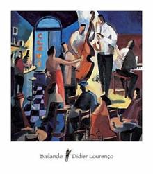 Bailando Art Print - Didier Lourenco