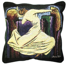 "Soulful Flight 18"" Tapestry Pillow"