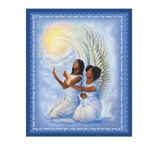 Angels Art Plaque - Small