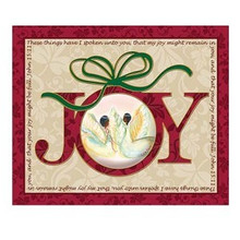 Joy Art Plaque - Medium