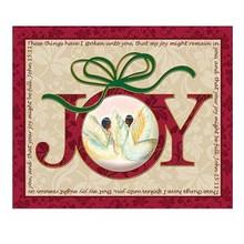 Joy Art Plaque - Medium