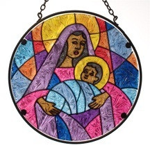 Madonna & Child Suncatcher
