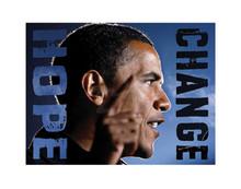 Barack Obama: Hope, Change (8.25 x 11in) Art Print