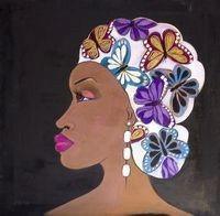 Madam Butterfly Magnet