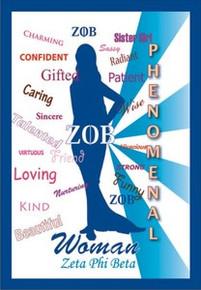 Phenomenal Woman Magnet - Zeta