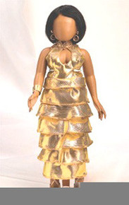 Glamorous in Gold Doll