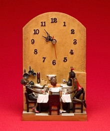 Six No Uptown Clock
