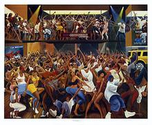 Hip Hoppers Art Print - Ernest Watson