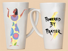 Powered By Prayer Mug - Cidne Wallace