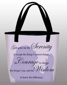 Serenity - Inspirational Tote Bag