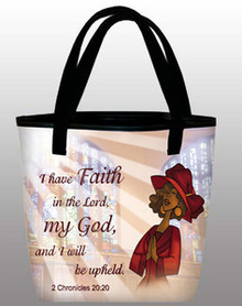 I Have Faith - Inspirational Tote Bag