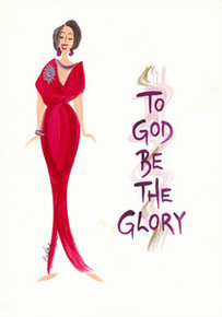To God Be The Glory Magnet - Cidne Wallace