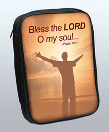 Bless the Lord Psalm 103:1 (Male) Bible Cover - 81430