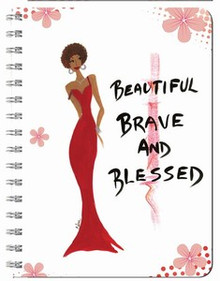 Beautiful, Brave & Blessed Journal (Large)