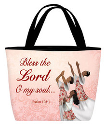 Bless the Lord (dancers) - Inspirational Tote Bag