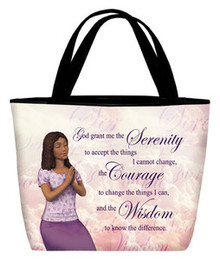 Serenity Prayer - Inspirational Tote Bag