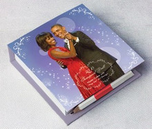 The Obamas Note Cube