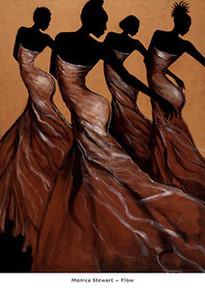 Flow Art Print - Monica Stewart