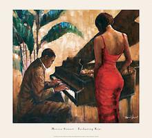 Enchanting Keys (29 x 26-1/2) Art Print - Monica Stewart
