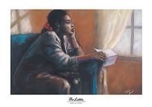 The Letter Art Print - Monica Stewart