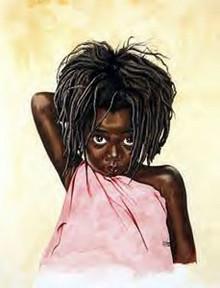 Pretty Eyes Art Print - Tom McKinney