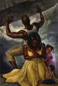 Behind Every Great Man Art Print - Kevin A. Williams - WAK