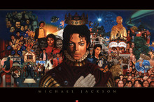 Michael Jackson: The King of Pop Art Print 24 x 36 - Kadir Nelson
