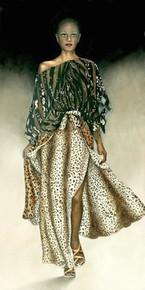 Catwalk Art Print - Signed giclee on canvas ed. 149 - Consuelo Gamboa