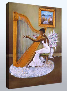 Melody Canvas Art Ready To Hang 12 x 16 - Annie Lee