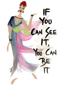 If You Can See It, You Can Be It Magnet - Cidne Wallace