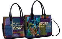 Prayer Warriors Bible Bag - Larry Poncho Brown