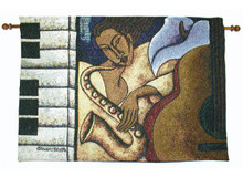 Night Groove 26 x 18 Tapestry Wall Hanging