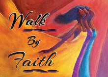 Walk By Faith Magnet