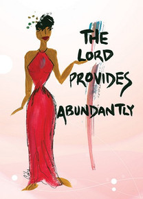 The Lord Provides Abundantly Magnet