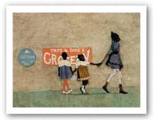 Sunday Going To Town Art Print - Danny Phifer