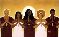 Spiritual LInk Art Print - Michael Bailey