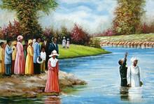 Baptism Art Print - Hulis Mavruk